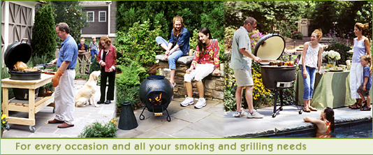 BIG GREEN EGG SCENE